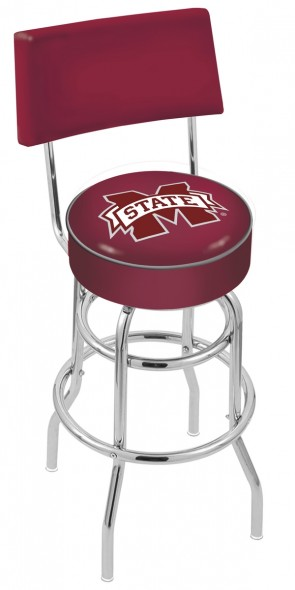 L7C4 Mississippi State University Logo Bar Stool