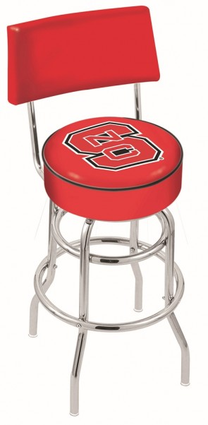 L7C4 North Carolina State Logo Bar Stool