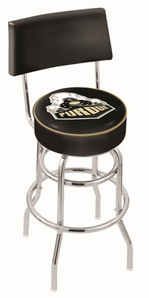 L7C4 Purdue University Logo Bar Stool