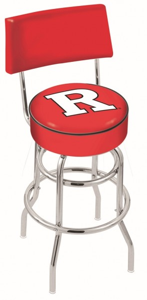 L7C4 Rutgers University Logo Bar Stool