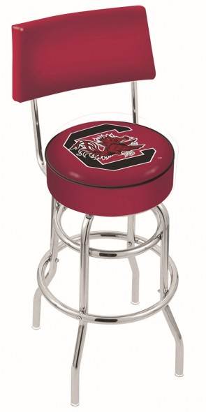 L7C4 University of South Carolina Logo Bar Stool