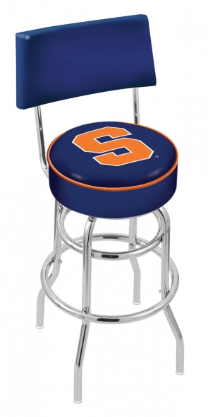 L7C4 Syracuse University Logo Bar Stool