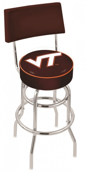 L7C4 Virginia Tech Logo Bar Stool