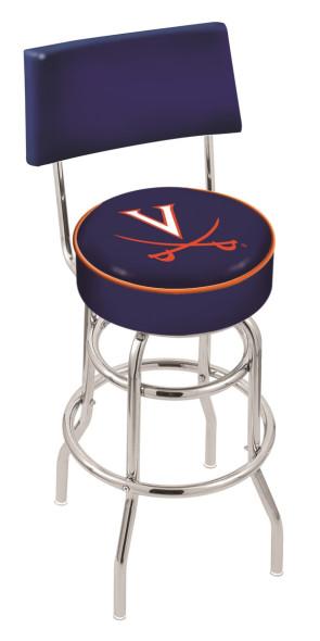 L7C4 University of Virginia Logo Bar Stool