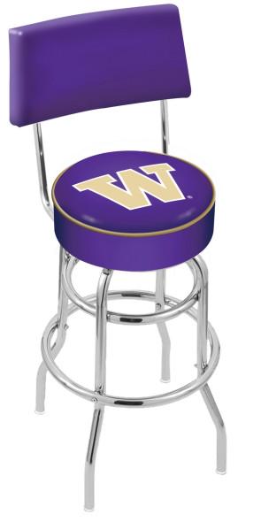 L7C4 University of Washington Logo Bar Stool
