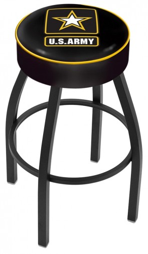 L8B1 US Army Logo Bar Stool