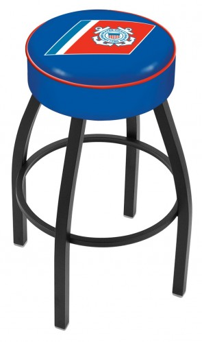 L8B1 US Coast Guard Logo Bar Stool