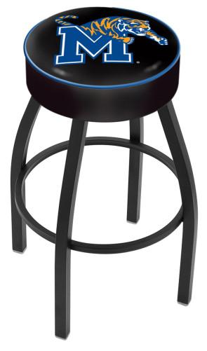 L8B1 University of Memphis Logo Bar Stool