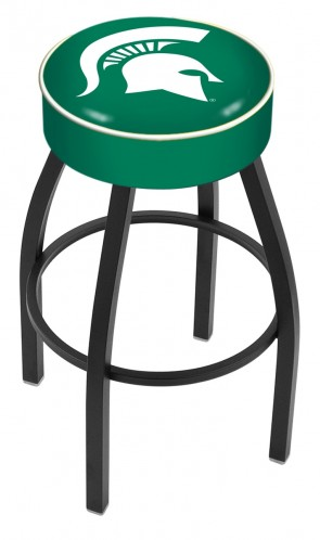 L8B1 Michigan State University Logo Bar Stool
