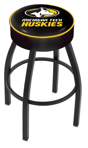 L8B1 Michigan Tech Logo Bar Stool