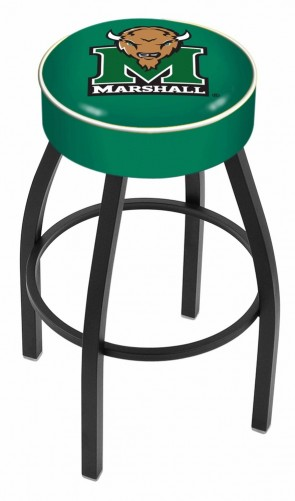 L8B1 Marshall University Logo Bar Stool