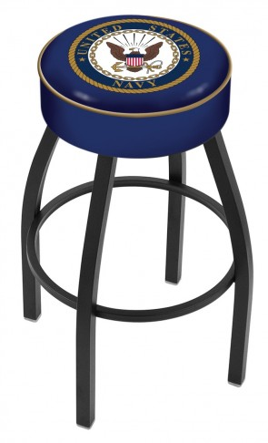 L8B1 US Navy Logo Bar Stool