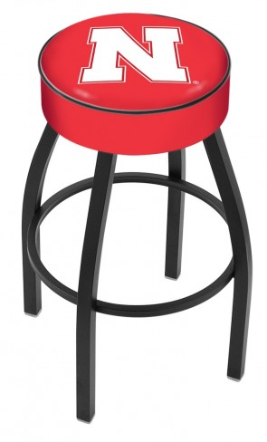 L8B1 University of Nebraska Logo Bar Stool