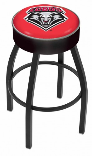 L8B1 University of New Mexico Logo Bar Stool