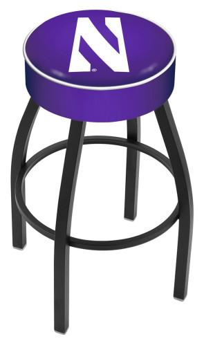 L8B1 Northwestern University Logo Bar Stool