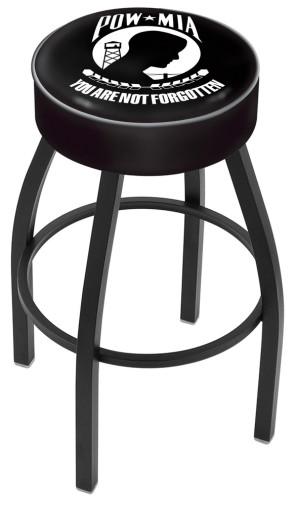 L8B1 POW - MIA Logo Bar Stool