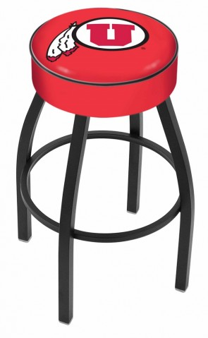 L8B1 University of Utah Logo Bar Stool
