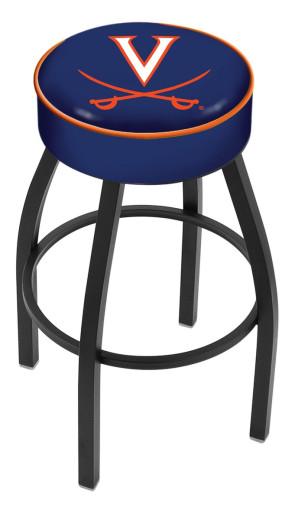 L8B1 University of Virginia Logo Bar Stool