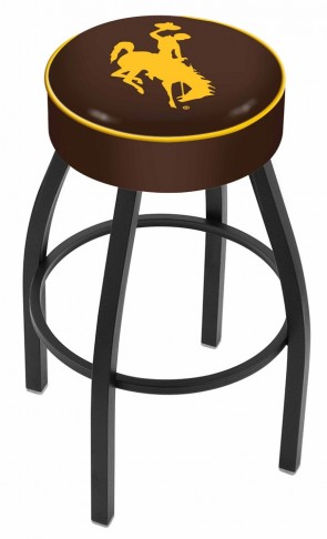 L8B1 University of Wyoming Logo Bar Stool