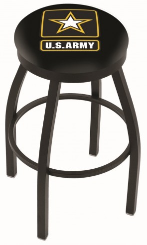 L8B2B US Army Logo Bar Stool