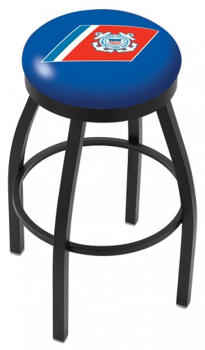 L8B2B US Coast Guard Logo Bar Stool