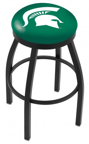 L8B2B Michigan State University Logo Bar Stool