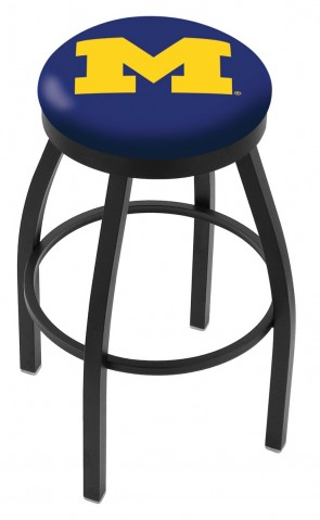 L8B2B University of Michigan Logo Bar Stool