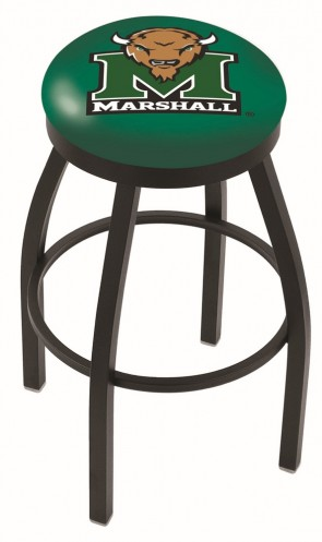 L8B2B Marshall University Logo Bar Stool