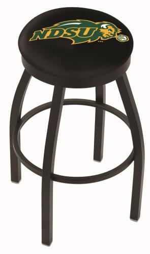 L8B2B North Dakota State Logo Bar Stool - Black