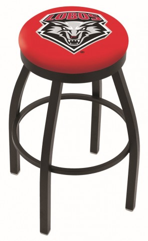 L8B2B University of New Mexico Logo Bar Stool