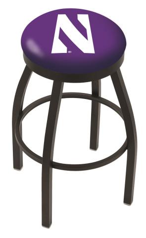L8B2B Northwestern University Logo Bar Stool
