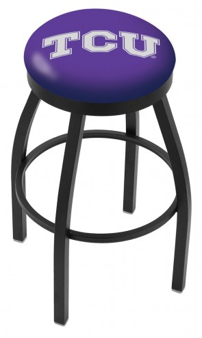 L8B2B Texas Christian University Logo Bar Stool