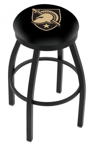 L8B2B US Military Academy Logo Bar Stool