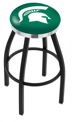 L8B2C Michigan State University Logo Bar Stool