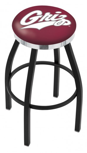 L8B2C University of Montana Logo Bar Stool