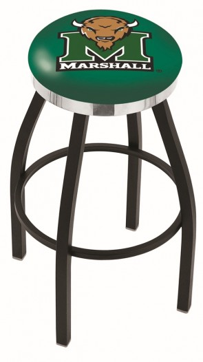 L8B2C Marshall University Logo Bar Stool