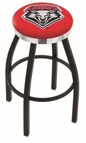 L8B2C University of New Mexico Logo Bar Stool