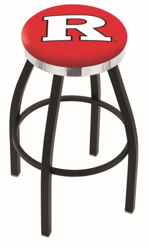 L8B2C Rutgers University Logo Bar Stool