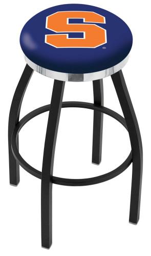 L8B2C Syracuse University Logo Bar Stool
