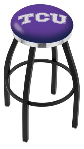 L8B2C Texas Christian University Logo Bar Stool