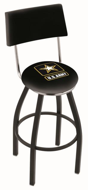 L8B4 US Army Logo Bar Stool