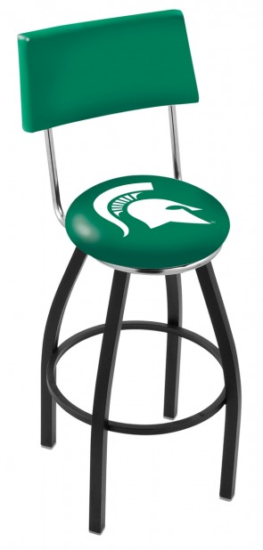 L8B4 Michigan State University Logo Bar Stool