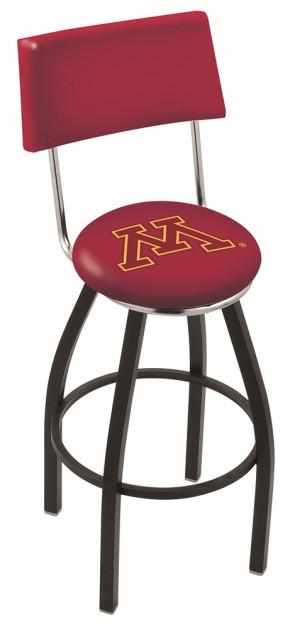 L8B4 University of Minnesota Logo Bar Stool