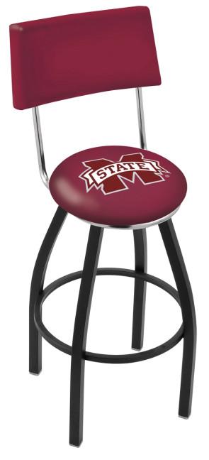 L8B4 Mississippi State University Logo Bar Stool