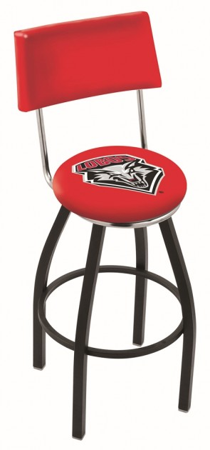 L8B4 University of New Mexico Logo Bar Stool