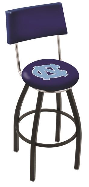 L8B3C University of North Carolina Logo Bar Stool