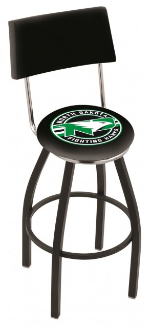 L8B4 University of North Dakota Logo Bar Stool