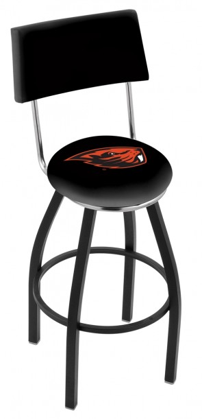 L8B4 Oregon State University Logo Bar Stool