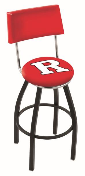 L8B4 Rutgers University Logo Bar Stool