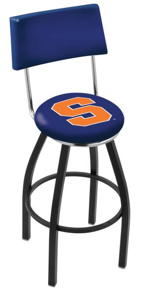 L8B4 Syracuse University Logo Bar Stool